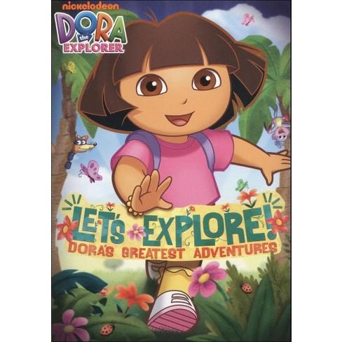 Dora the Explorer: Let's Explore! Dora's Greatest Adventures (DVD) - image 1 of 1