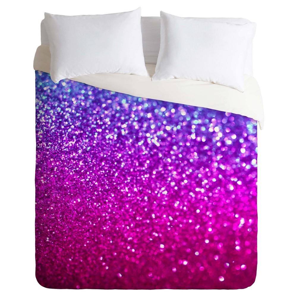 Pink Lisa Argyropoulos New Galaxy Duvet Cover Set (King) - Deny Designs