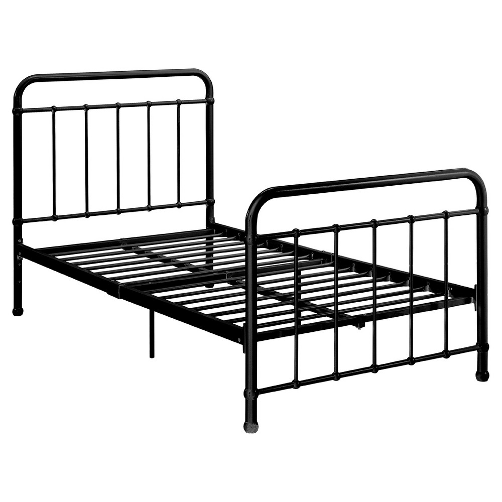 Image of Brooklyn Iron Bed - Twin - Black - Dorel Home Products