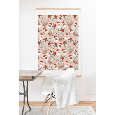 Dash And Ash Peppermint Mocha Art Print and Hanger - Society6