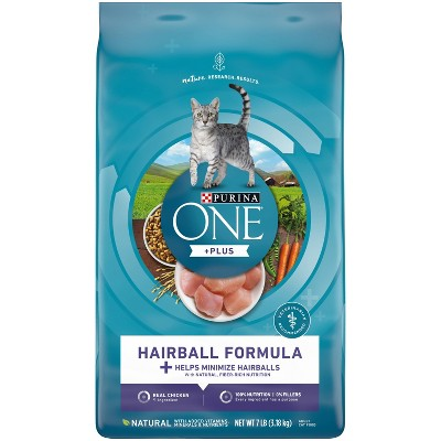 Purina ONE Hairball Formula Adult Premium Dry Cat Food