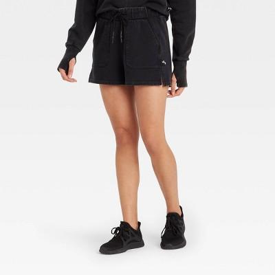 Women's French Terry Mid-Rise Shorts - JoyLab™