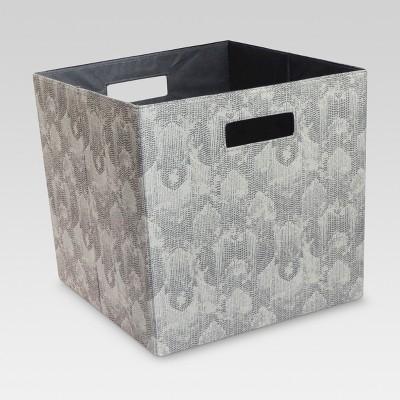 Fabric Cube Storage Bin 13  - Threshold™