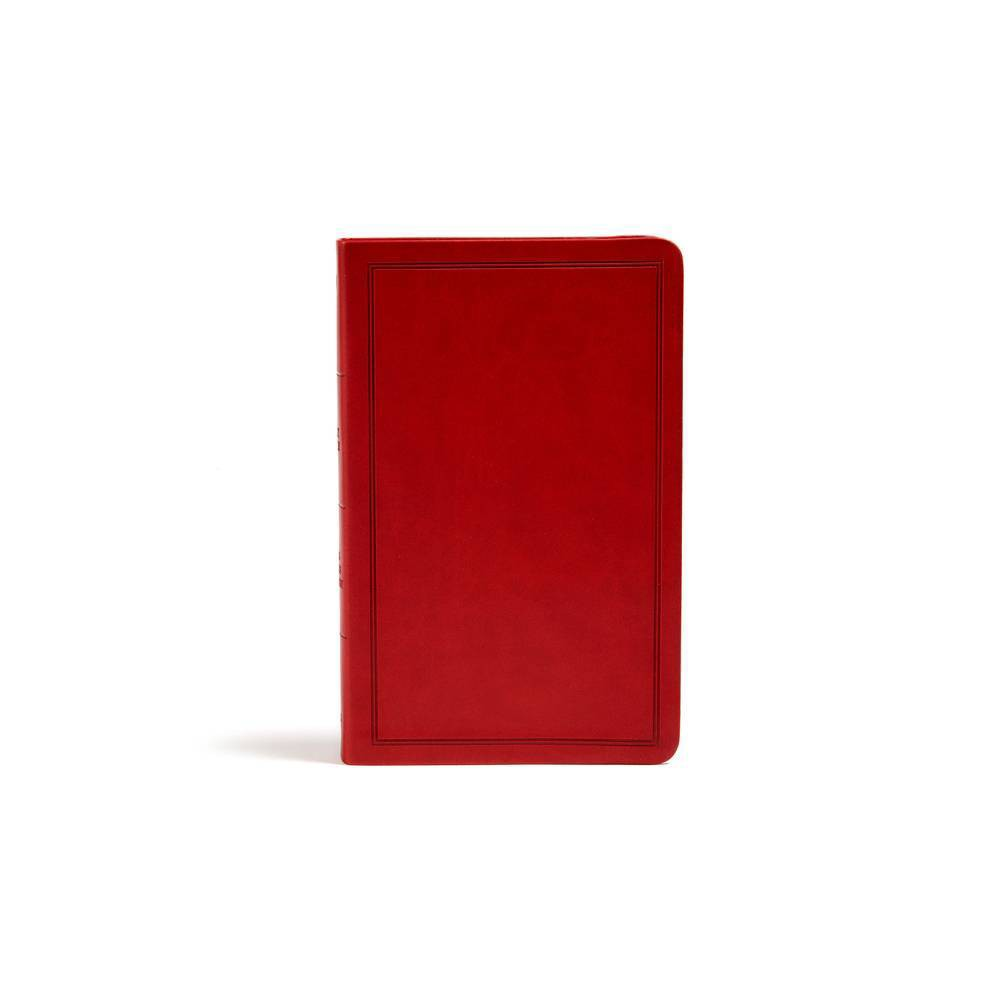Kjv Deluxe Gift Bible Burgundy Leathertouch Leather Bound