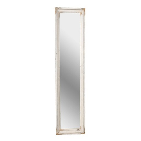 Mirror Distressed White - A&B Home - image 1 of 2