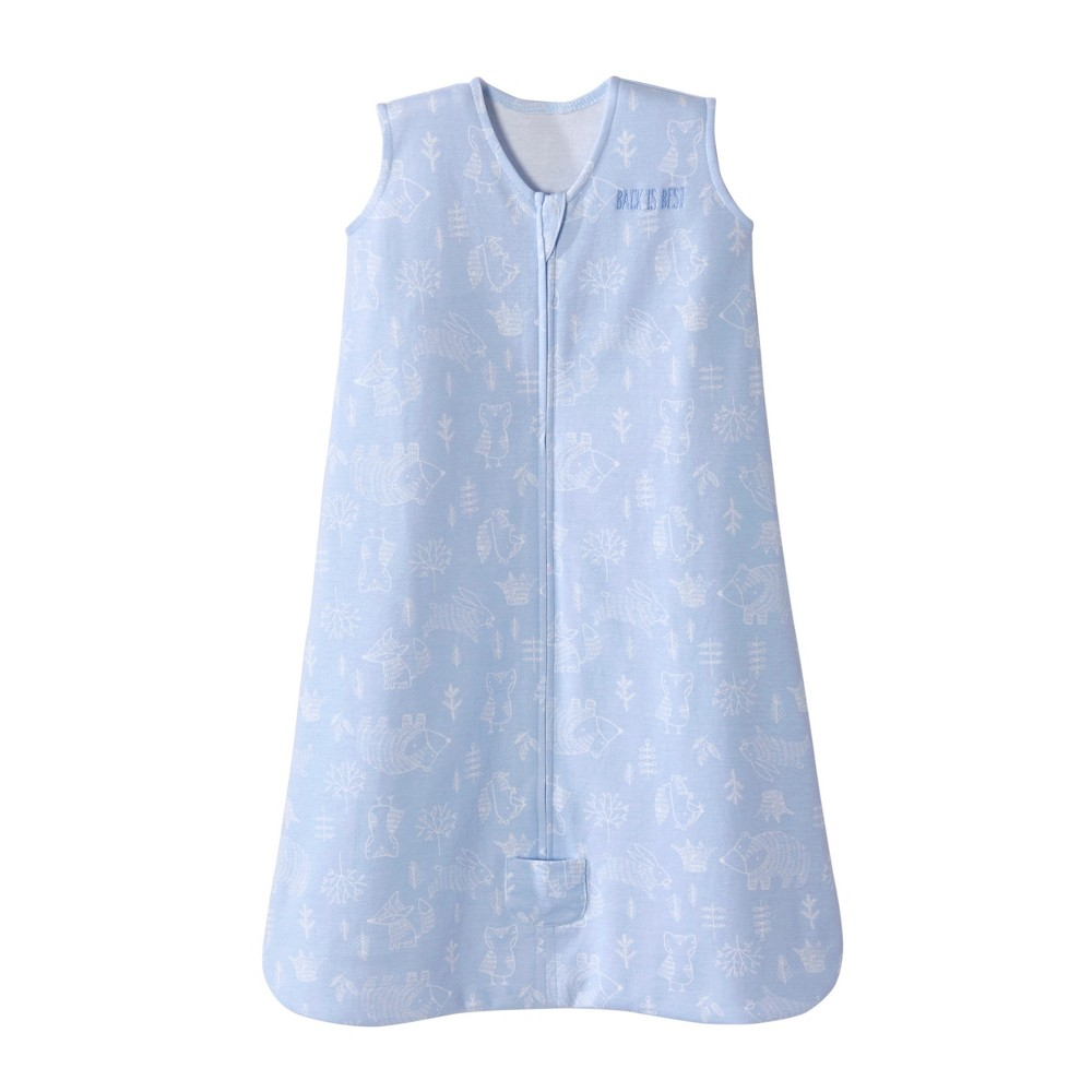 Halo Sleepsack Wearable Blanket Woodland Etch - Blue - MD, Infant Boy's