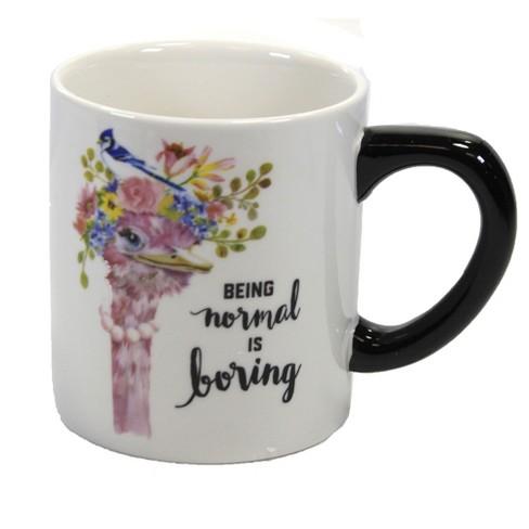 "Tabletop 4.0"" Ostrich Mug Coffee Cup Bird Ganz  -  Drinkware - image 1 of 3"