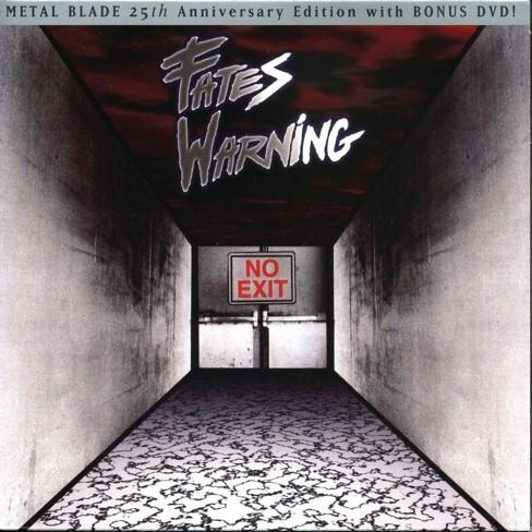Fates Warning - No Exit - 25Th Anniversary Edition (CD) - image 1 of 1
