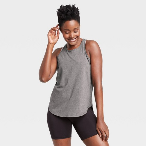 Women's Racerback Essential Tank Top - All in Motion™ - image 1 of 4