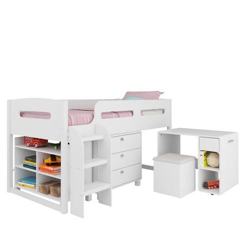 CorLiving Kids Bedroom Set White - image 1 of 4