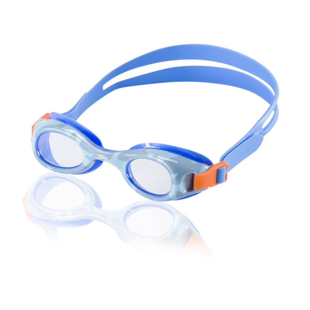 Speedo Kids Glide Print Goggle - Blue