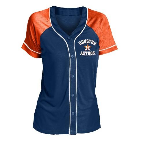 7b70ba25 MLB Houston Astros Women's Fashion Jersey : Target