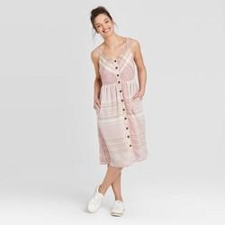 Women's Sleeveless Button-Front Sun Dress - Universal Thread™