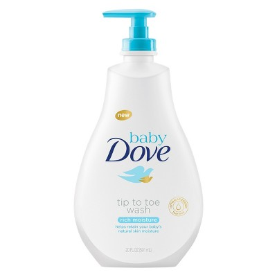 Baby Dove Rich Moisture Tip-to-Toe Wash - 20oz