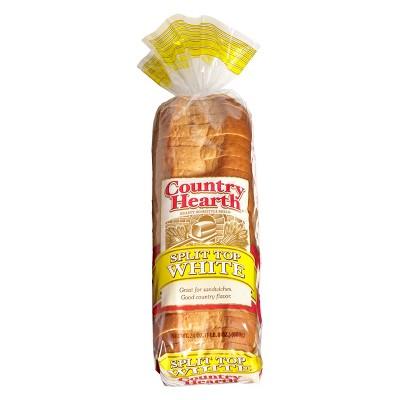 Country Hearth Split Top White Bread - 24oz
