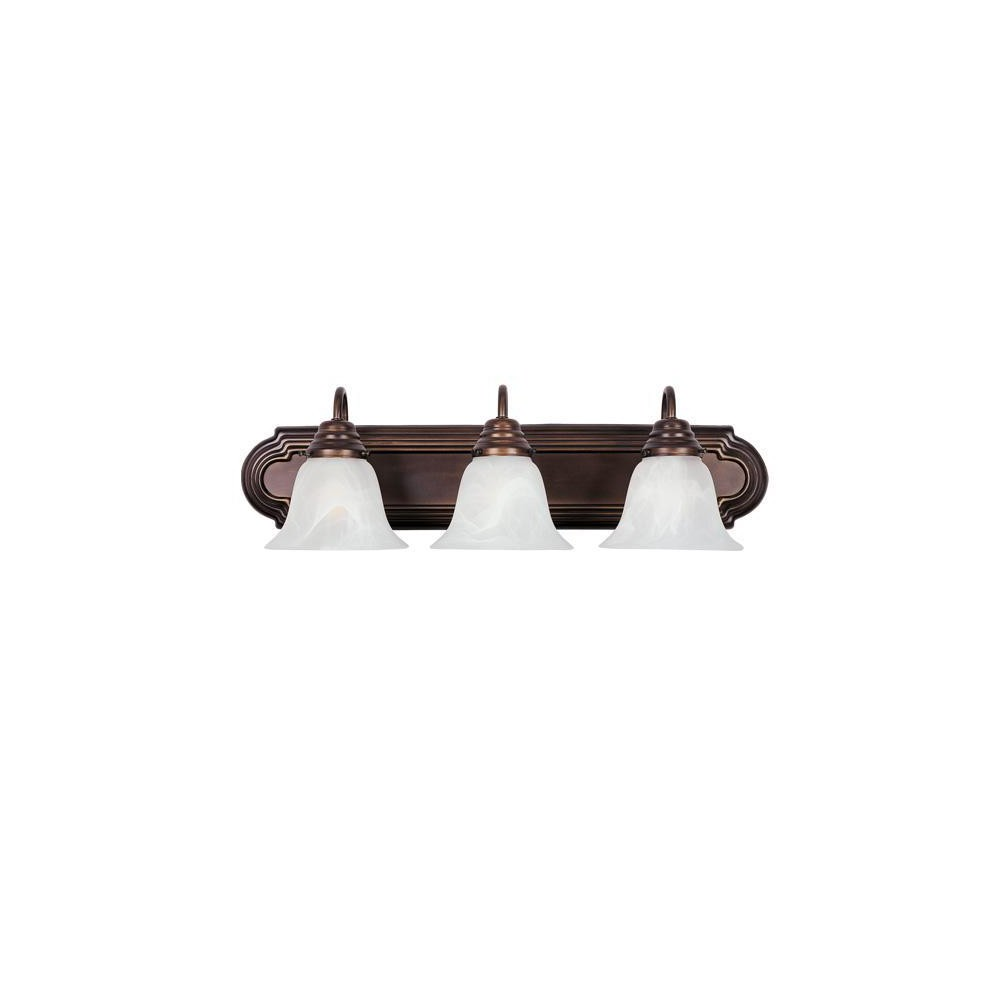 Image of 3-Light Vanity Fixture, Wall Lights
