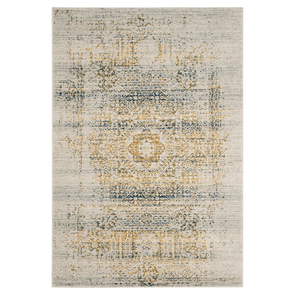 Top Evoke Rug - Ivory Blue - (10x14) - Safavieh