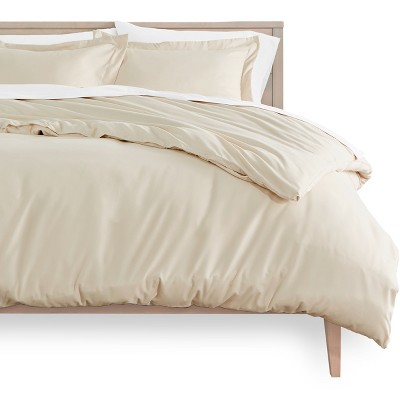 Bare Home Microfiber Duvet Cover and Sham Set