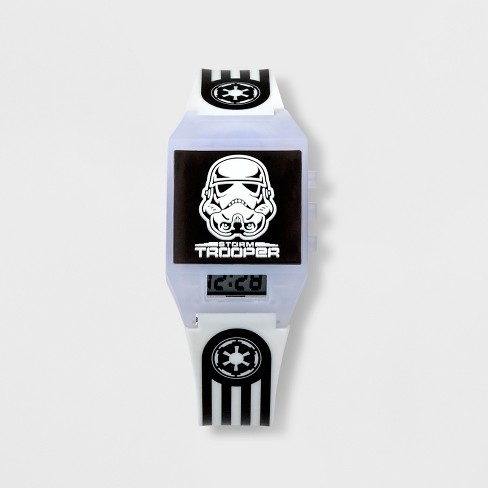Boys' Star Wars Watch - White - image 1 of 2