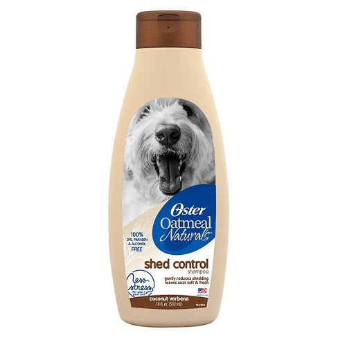 Oster Oatmeal Naturals Shed Control Pet Shampoo - 18 oz - image 1 of 2