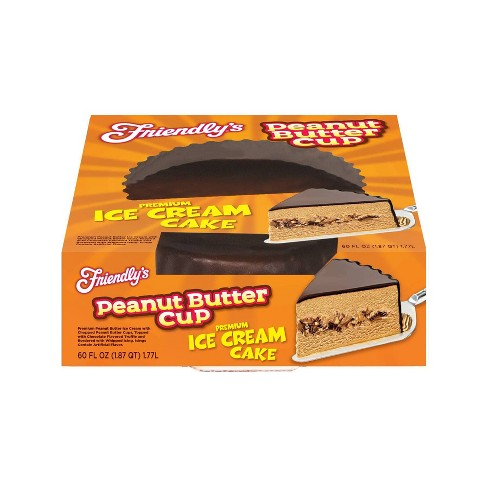 Friendly's Peanut Butter Cup Premium Ice Cream Cake - 60oz - image 1 of 3