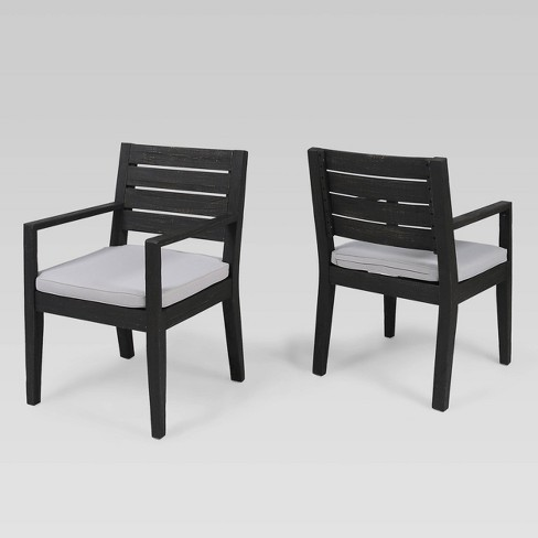 Nestor 2Pk Acacia Wood Dining Chairs - Christopher Knight Home  - image 1 of 4