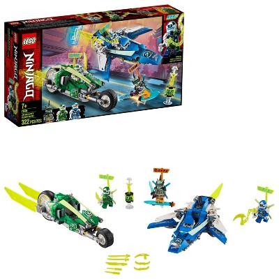 LEGO NINJAGO Jay and Lloyd's Velocity Racers Ninja Building Kit 71709