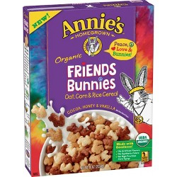 Annie's Friends Bunnies Breakfast Cereal - 10oz
