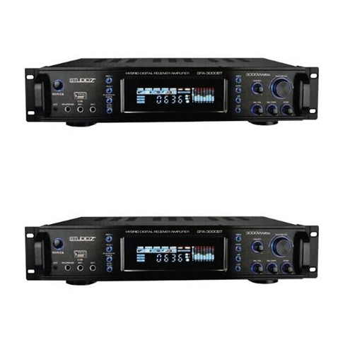 Studio Z Digital Home Audio Hybrid Radio Receiver 2 Channel Amplifier (2 Pack) - image 1 of 4