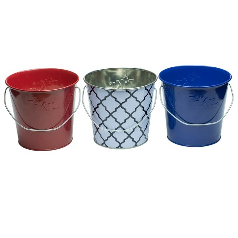 6pk 17oz Wax Bucket Candles Red/White/Blue - TIKI - image 1 of 2