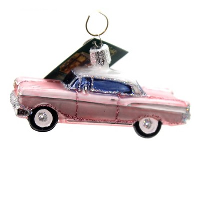 """Old World Christmas 2.0"""" 57 Chevy Ornament Vintage Car  -  Tree Ornaments"""