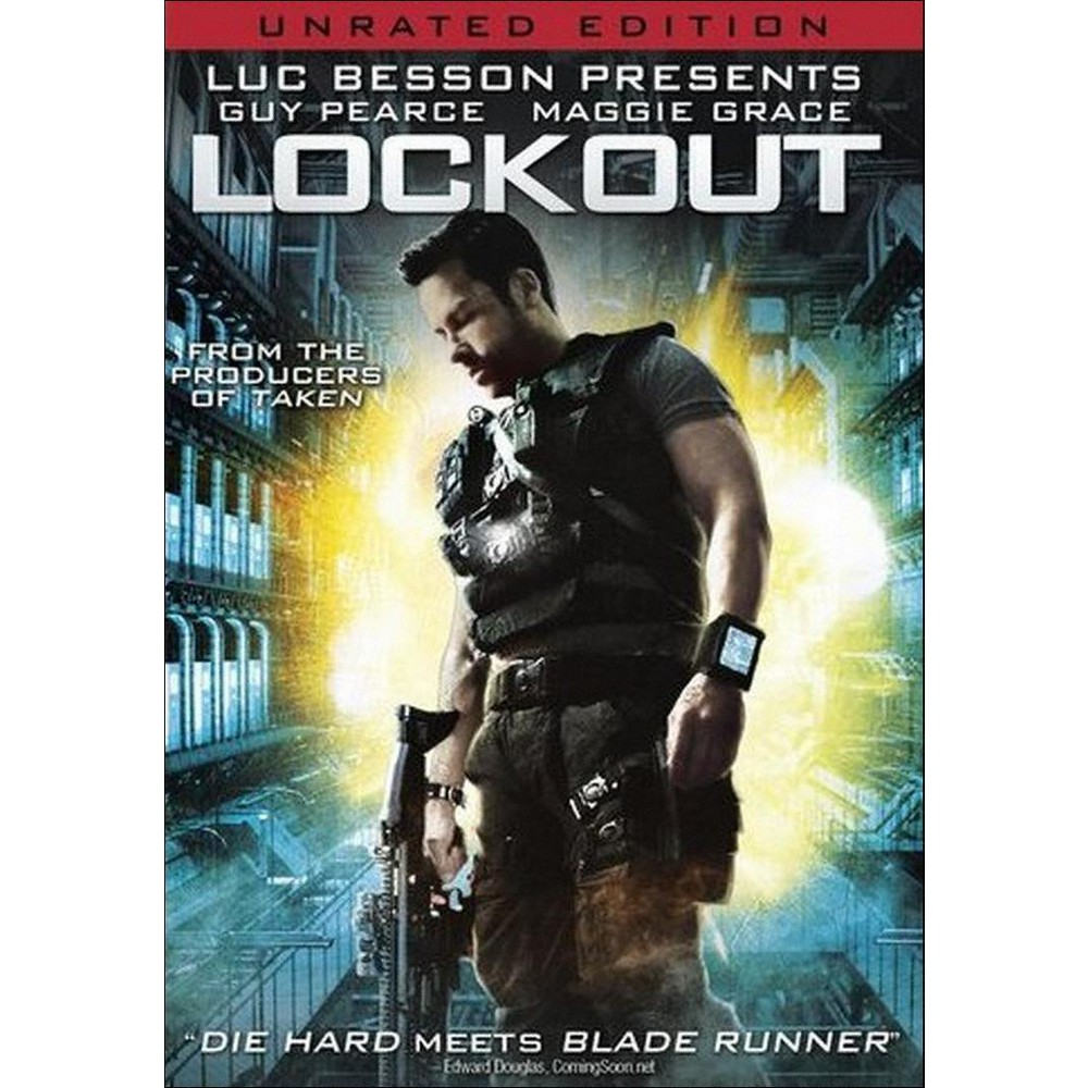 Lockout [Unrated] [Includes Digital Copy] [UltraViolet]