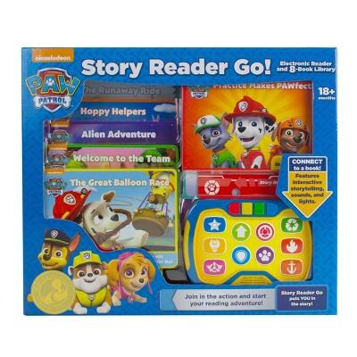 Nickelodeon PAW Patrol Story Reader Go! Electronic 8-book Box Set