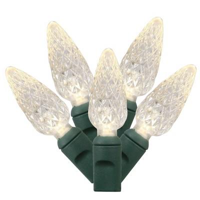 Vickerman Single Mold C6 LED Christmas light set