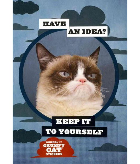Grumpy Cat Flexi Journal With Stickers (Paperback) - image 1 of 1