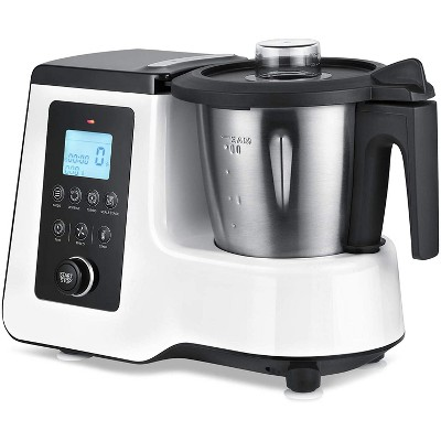 Dartwood All-in-One Smart Kitchen Machine with Bluetooth Connectivity - Cooking, Kneading, Blending, Mixing, Steaming, Boiling and Stir-Frying