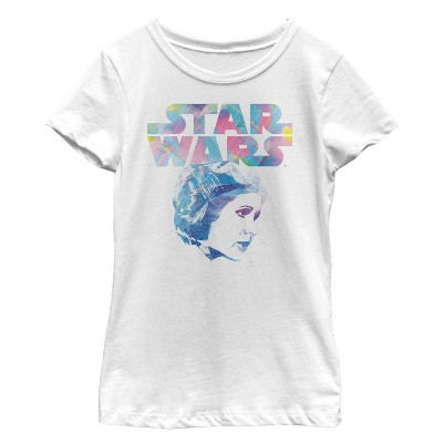 Girl's Star Wars Modern Princess Leia Profile T-Shirt