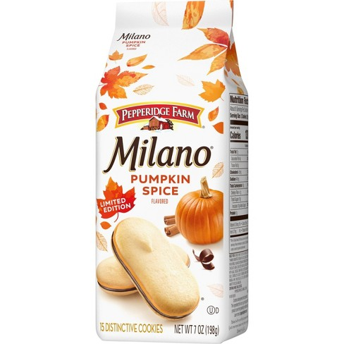 Pepperidge Farm Milano Limited Edition Pumpkin Spice Cookies - 7oz/15ct - image 1 of 4