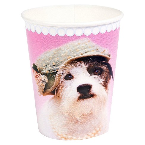 8ct Rachael Hale Glamour Dogs Paper Cup - image 1 of 1
