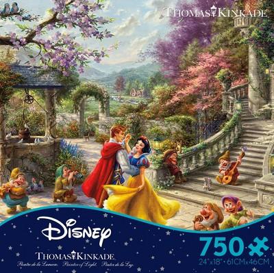 Ceaco Disney Thomas Kinkade: Snow White Sunlight Puzzle 750pc