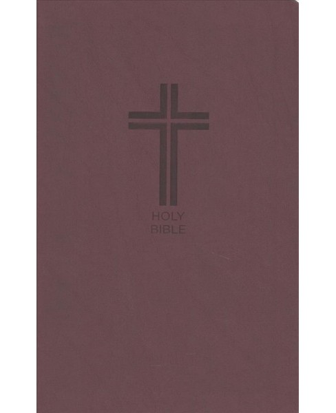 Holy Bible : New King James Version, Burgundy, Leathersoft, Value Thinline, Red Letter Edition - image 1 of 1