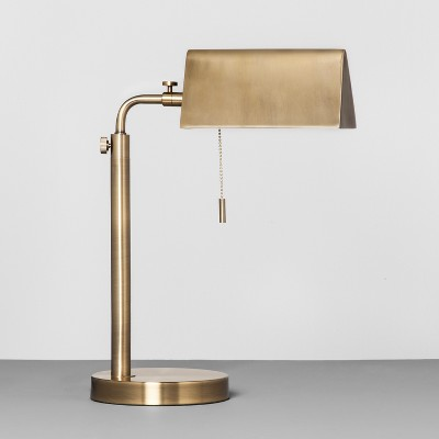 Brass Library Task Lamp - Hearth & Hand™ with Magnolia