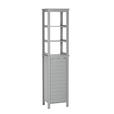 Madison Collection Linen Tower with Open Shelves - RiverRidge Home