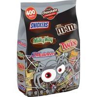 Deals on 400CT Mars Chocolate Favorites Twix Milky Way Snickers 126oz