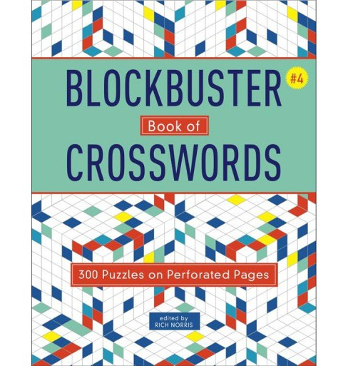Blockbuster Book of Crosswords -  (Blockbuster Book of Crosswords) (Paperback) - image 1 of 1