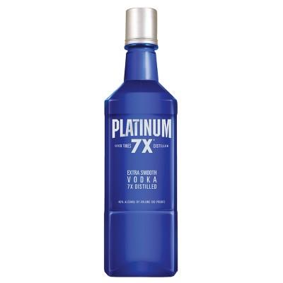 Platinum 7X Distilled Vodka - 750ml Bottle