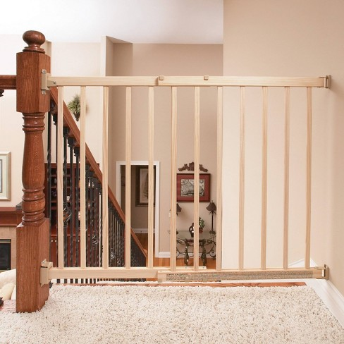 Evenflo Top Of Stair Extra Tall Wood Gate