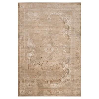 Alessandra Vintage Area Rug - Stone ( 5' 3  X 7' 6  )- Safavieh®