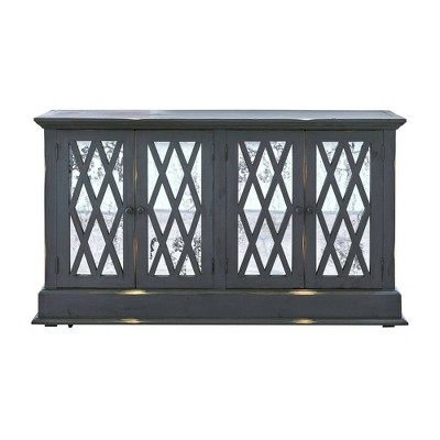 """Montie TV Stand for TVs up to 60"""" Brown - Picket House Furnishings"""