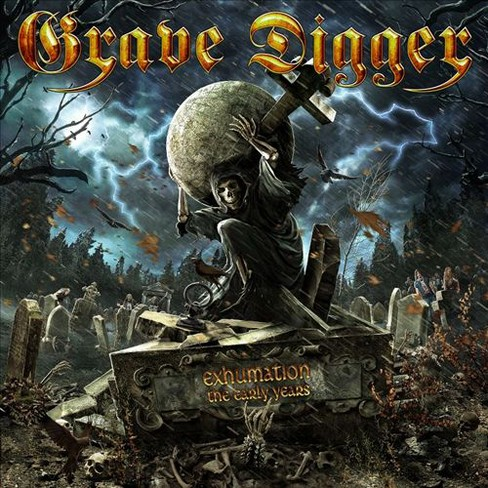 Grave digger - Exhumation:Early years (CD) - image 1 of 1
